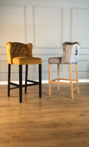 Melrose stool  – gold or silver?